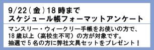手帳アンケート2